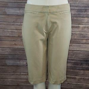 EILEEN FISHER Cotton Bermuda Shorts size S